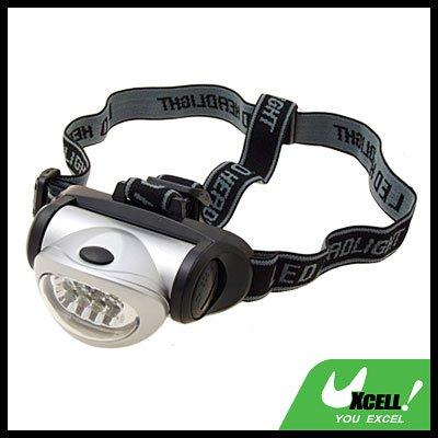 8 White LED Powerful Headlight Headlamp Light