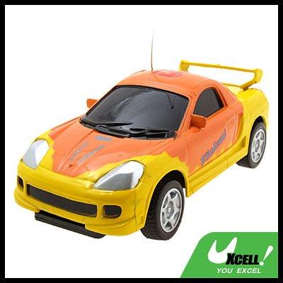Orange Radio Kids Toys Remote Control Super RC Racing Car
