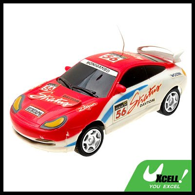 Remote Radio Control RC Racing Car Toy Red