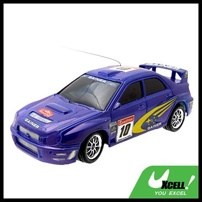 RC Toy Car Racing Remote Control Speed Racer Auto Blue for Kids