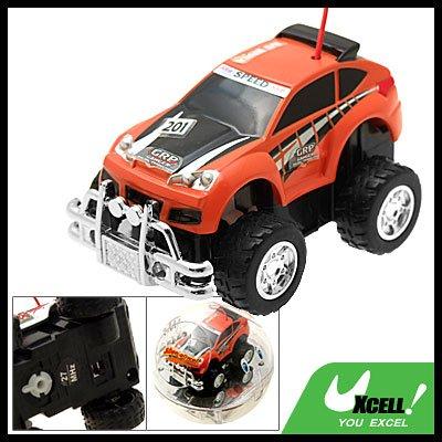 Mini Ball Remote Radio Control Kids Racer Racing Car Toy