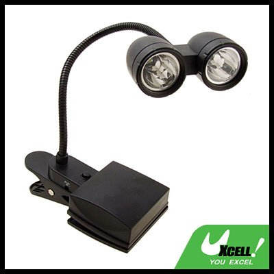 Bright Eyes Travel 2 LED Clip Reading Lamp