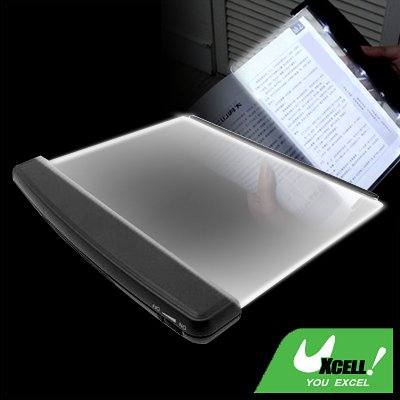 Night Reading Panel for reading Map Chart Page with White LED Light Lamp