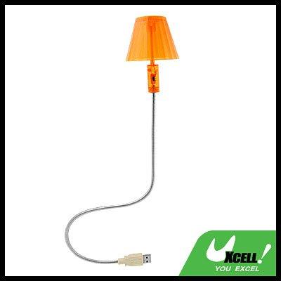 USB Desktop Computer PC Lamp Metal Curly Neck