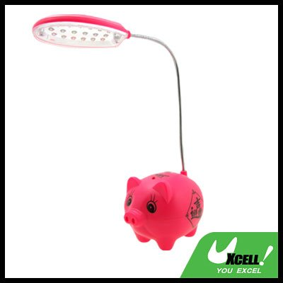18 LED Pig Super Capacity Desk Light Reading Lamp