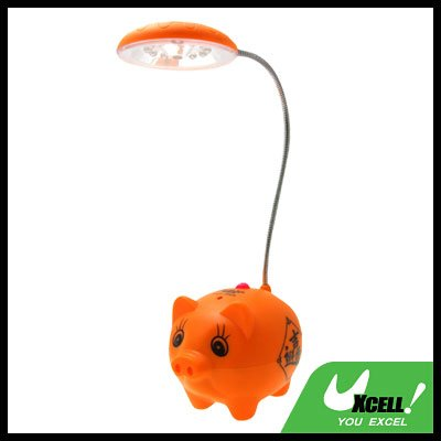 Pig Super Capacity 12 LED Desk Light Reading Lamp