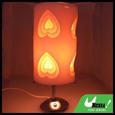 Fashionable Design Mini Soft Touch Desk Lamp Heart