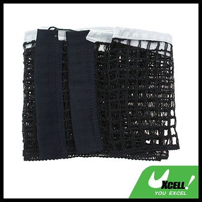 Table Tennis Ping Pong Replacement Net - Black & White