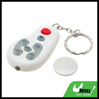 Mini Universal TV Remote Key Chain
