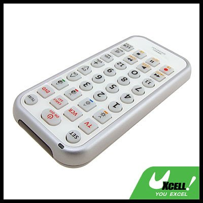 4 in 1 Universal Big-button Remote Controller for TV VCR DVD (RM-E84)