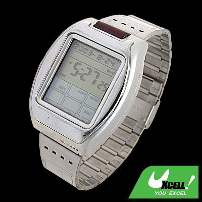 Silver Touch Screen Panel Wrist Watch TV Remote Control