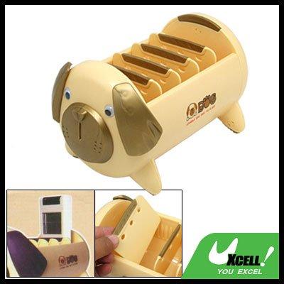 Lovely Dog Box TV Video DVD VCR Remote Control Holder Organizer