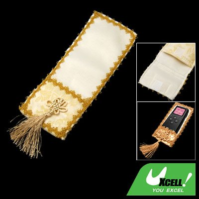 Big Chinese Knot Fabric TV Remote Control Cover for Family