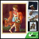 Yunan Girl Cattle Counted Cross Stitch Cross-Stitch Kit