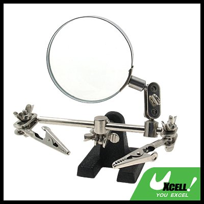 "Magnifier Magnifying Glass 2 1/2"" with Working Stand"