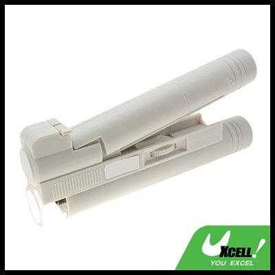 Pocket LED Illuminated 100X Microscope Magnifier White
