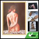 Belle Naked Back Counted Cross Stitch Cross-Stitch Kit