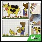 Cattle Child Pattern Counted Cross Stitch Cross-Stitch Kit
