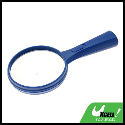 LED Illuminated 5X Magnifying Glass Magnifier