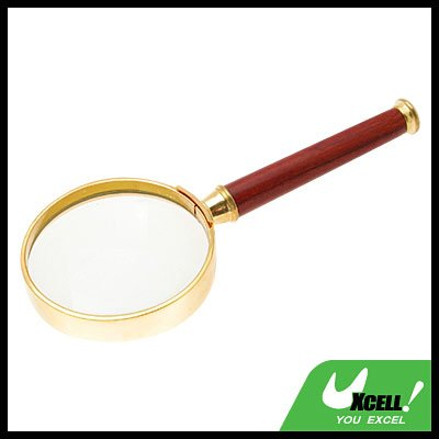 5X Classic Mineral Glass Magnifier Magnifying Glass