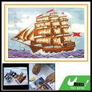 X-stitch Counted Cross Stitch Kit in Sailboat Pattern