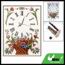 Corbeil Cross Stitch Clock Face Counted Cross-Stitch Kit