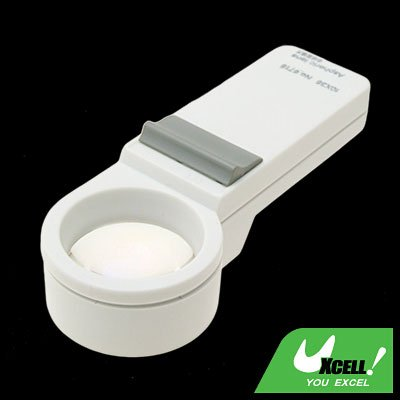 12X Light Illuminated Pocket Magnifier Magnifying Glass
