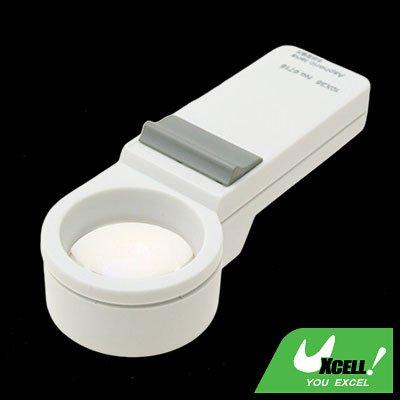 10X Light Illuminated Pocket Magnifier Magnifying Glass