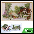 Summer Scenery Cross Stitch Counted Cross-Stitch Kit