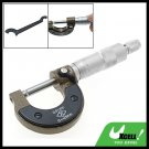 25MM Micrometer Caliper Gauge Mechanist Measure Tool Silver & Black***/