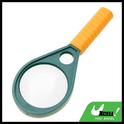 5X 10X Reading Magnifying Glass Mineral Hand Held Magnifier 48mm