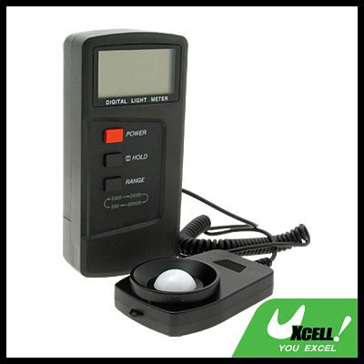 NEW Digital Lux Light Meter 200000 Lux Light Level Measure