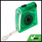 Green 1M Mini Pocket Tape Measure Ruler with LED Light