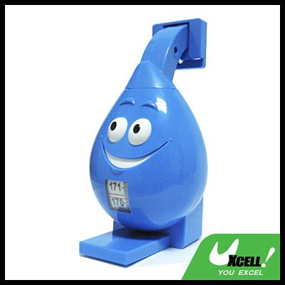 Blue Cartoon Retractable Tape Measure Ruler