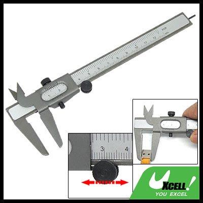 Dual Scale Metal Vernier Caliper 0-16cm Measuring Tool