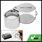 20 x 17mm Magnifier Jewelers Jewelry Magnifying Loupe
