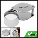 30 x 21mm Magnifier Jewelers Jewelry Magnifying Loupe