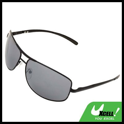 Metal Frame Men Aviator Eyeglasses Sunglasses with UV400 Protection