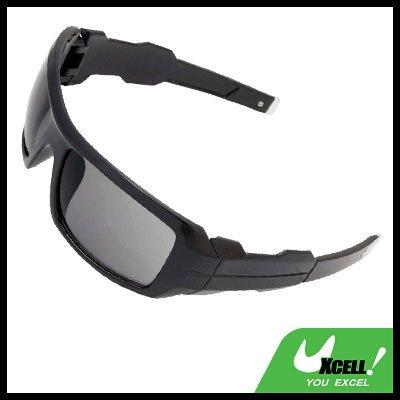 Large Black Eye Wear Sport Men's Motorcycle Sunglasses
