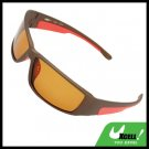 Night Vision Gray Frame Bicycle Motorcycle Driver Race Sunglasses Sun Glasses