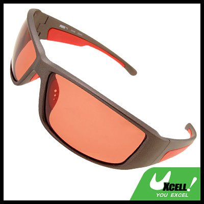 Red Bicycle Motorcycle Driver Race Night Vision Sunglasses Sun Glasses