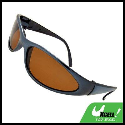Cool Motorcycle Amber Lens Polarized Eyewear Sunglasses