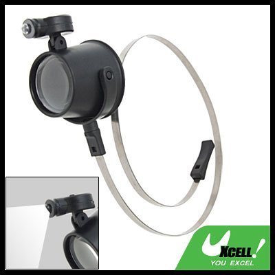 15X  Watchmarker Magnifier LED Eye Loupe w/ Head Strap