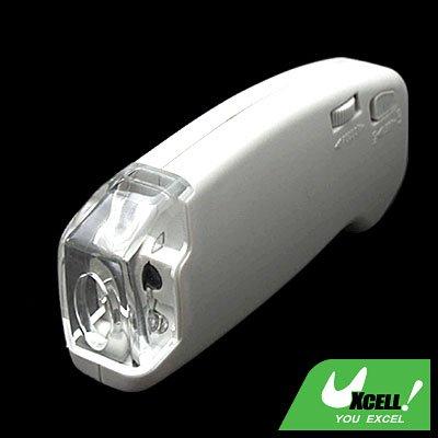 40X LED Illuminated Light Hand Held Microscope Glass