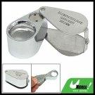 Mini Jeweler Loupe Eye Glass Magnifier (30X-21mm Lens)