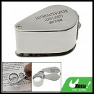 30X Folding LED Magnifier Magnifying Glass Jewelry Loupe