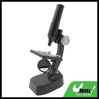 Children Toy Biologic Microscope Black
