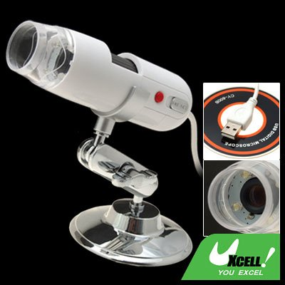 White Embedded 1.3 Mega Pixels Camera Digital USB Microscope
