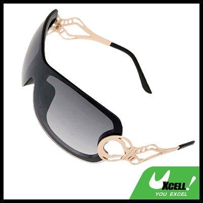Stylish Ladies Women Cool Black Frame Sports Sunglasses