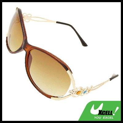 Girl Boy's Unisex Eyewear Brown Sports Sunglasses